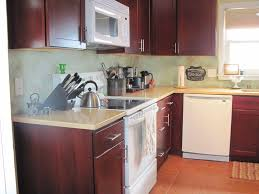 L Shaped Kitchen Island Ideas by Kitchen Islands Kitchen Small Kitchen Design With Red Brown L