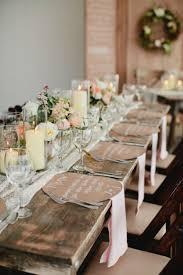 decoration table mariage theme voyage le thème du mariage champêtre mon coup de cœur roselia