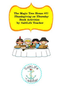 magic tree house thanksgiving mini unit with activities check