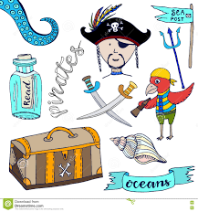 pirate kids collection royalty free stock images image 30428079