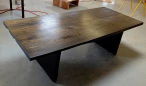 mango wood dining table wenge stain mango wood slab dining table bjorling grant