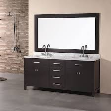 Bathroom Vanities Free Shipping by Shop Design Element London Espresso Undermount Double Sink