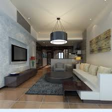 Home Hall Furniture Design Tv Exquisite Home Living Hall Interior With Tv 3d Model Max