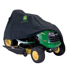 john deere 46 in x 44 in black riding mower cover for 100 x300