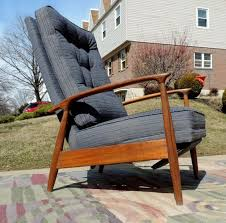 Milo Baughman Recliner Authentic Milo Baughman Recliner Lounge Chair With Label Mid