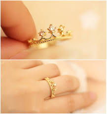 gold cute rings images Jewels rings and tings gold ring princess jewelry wheretoget jpg