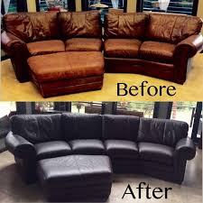 Leather Sofa Color Restoration by Dye A Leather Couch Leather Living Rooms And House