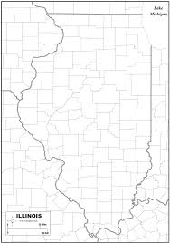 Maps Of Illinois by Free Map Of Illinois