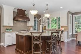 rounded kitchen island kitchen islands kitchen transitional with arched doorway