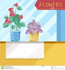 Beautiful House Plants by Beautiful House Plants Stock Vector Image 59030269