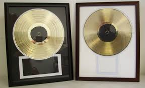 personalized record album gold record lp album plated platinum disc