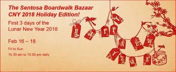 And New Year Holidays In The Sun Sentosa Boardwalk New Year Holidays Bazaar Tickikids