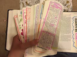 woman spends 3 months decorating every single page of the bible as