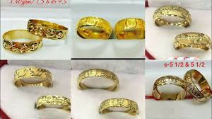 saudi gold wedding ring saudi gold ring images in 18k wedding rings weight