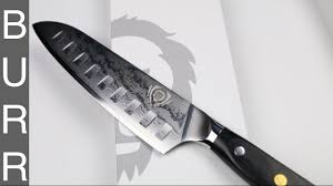 dalstrong shogun santoku vg10 japanese kitchen knife unbox youtube