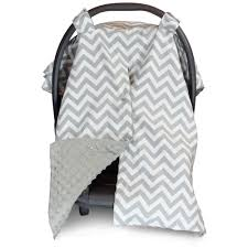 Free Carseat Canopy Pattern by Chevron Car Seat Canopy With Peekaboo Opening Free Shipping