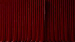 Velvet Curtains Red Velvet Curtains Opening And Closing With Alpha Mask Stock