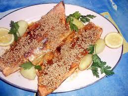 cuisiner des truites recette de filet de truite au curry et graines de sésame