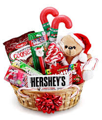gift baskets christmas christmas goodies galore at from you flowers