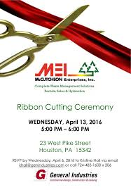Invitation Card For Grand Opening Mccutcheon Enterprises U2013 Grand Opening U0026 Ribbon Cutting