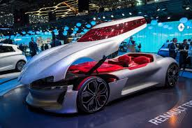 renault concept the renault trezor is the retro future concept car of my childhood