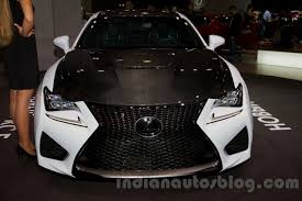 lexus rc motor lexus rc f carbon pack shown at moscow motor show