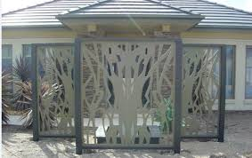 best steel fence panels with decorative metal fence panels 9