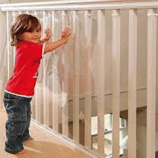 Banister Safety Kidkusion Banister Guard Clear Amazon Ca Baby