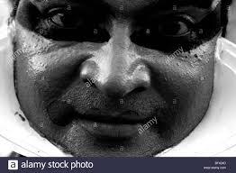 Black And White Drama by Kathakali Black And White Photo Portrait Monochrome Dance Stock