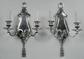 Nickel Candle Wall Sconce Silver Wall Candle Sconces Nickel Hammered One Light Wall Sconce