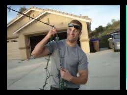 people who hang christmas lights how to hang christmas lights from a 40ft street pole youtube