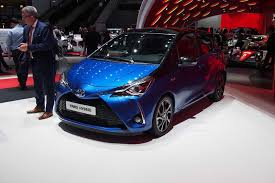 2017 Toyota Yaris Refreshed Gains Supercharged Hatch Model