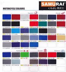 samurai motorcycle colour spray paint end 6 6 2015 1 15 pm
