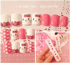 fake hello kitty nail promotion shop for promotional fake hello
