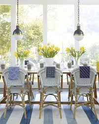 Coastal Dining Room Sets Where To Find The Best Woven Bistro Chairs U2014 Coastal Collective Co