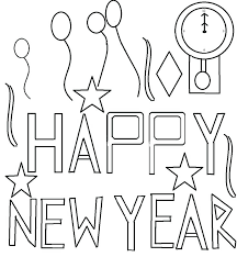 happy new year preschool coloring pages best happy new year greetings images on children happy new year