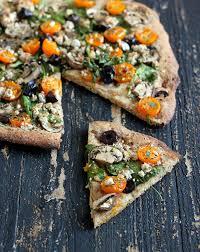 Mediterranean Vegan Kitchen - 12 healthy vegan pizzas 12 crusts 5 glutenfree 3 cheeses round