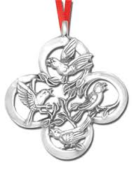 sterling silver ornaments silver ornaments by year annual silver