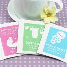 tea bag party favors personalized baby silhouette tea bag favors cairnstravel info