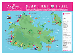 Map Of Mexico Beaches by Antigua And Barbuda Tourism Authority Announces Beach Bar Trail