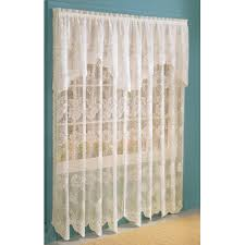 curtains with attached valances walmart com anna lace curtain