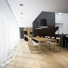 Black And Wood Chairs Modern Minimalist Black And White Lofts