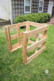 build diy compost bin free plans u0026 cut list