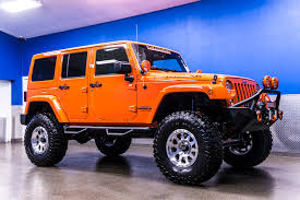 orange jeep wrangler unlimited for sale used 2015 jeep wrangler unlimited moab 4x4 suv for sale 22942