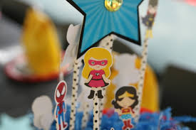 diy super hero party decorations cathie filian u0026 steve piacenza