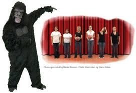 Inattentional Blindness Definition Invisible Gorilla U0027 Test Shows How Little We Notice