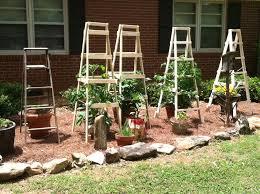 minimalist garden staircase with combined wood rectangular oak