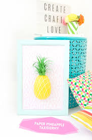 Pineapple Home Decor by Diy Paper Mache Pineapple Wall Art Damask Love Home Decor Ideas