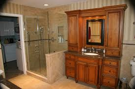 cherry bathroom vanity cabinets remodeling nj nyc kitchen
