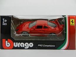 model f40 1 64 burago model f40 competizione sports car diecast
